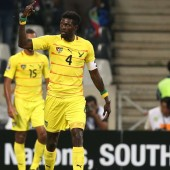 CAN 2013: Emmanuel Adebayor lors du match Togo-Tunisie
