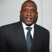 Tim Brown lors du super Bowl Gospel