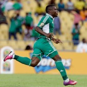 CAN 2013: Emmanuel Emenike célèbre son but