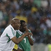 CAN 2013: Stephen Keshi et Ahmed Musa